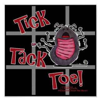 Tick Tack Toe Print