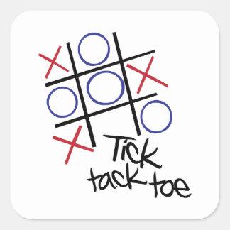Tick Tack Toe Stickers