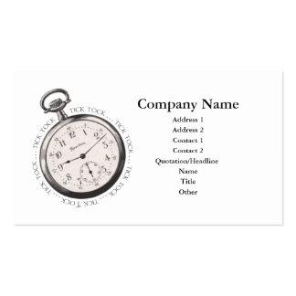 Tick Tock Business Card
