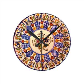Tick Tock Round Wall Clock