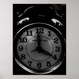 Tick Tock Clock Poster