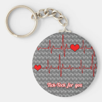 Tick tock for you keychain