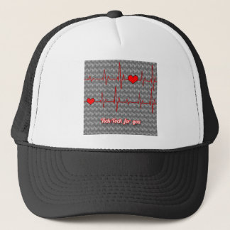 Tick tock for you trucker hat