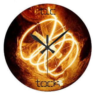 tick tock large clock