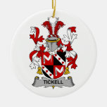Tickell Family Crest Ornament