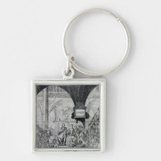 Ticket for the Coronation of George III Keychain