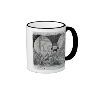 Ticket for the Coronation of George III Mug