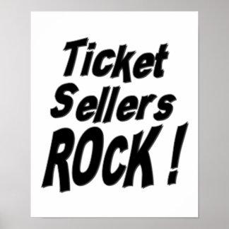 Ticket Sellers Rock! Poster Print