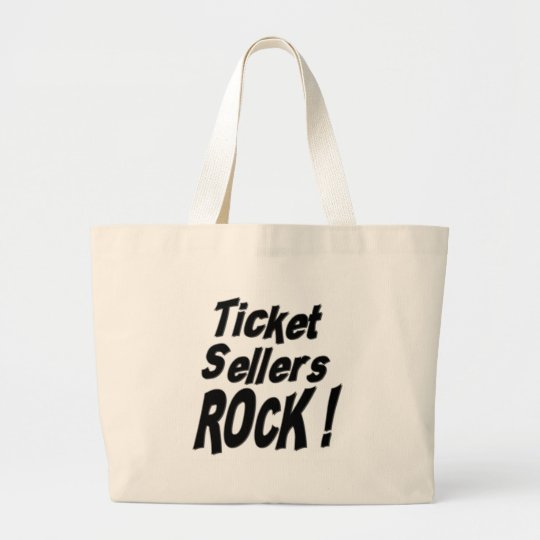 Ticket Sellers Rock! Tote Bag
