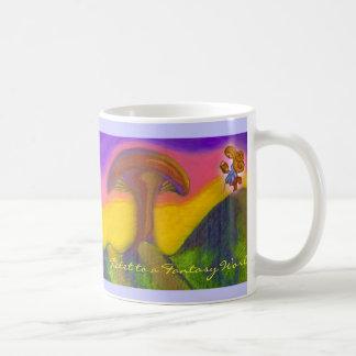 Ticket to a Fantasy World Coffee Mug