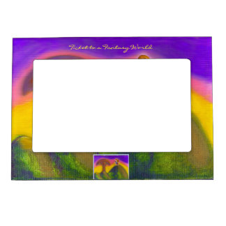Ticket to a Fantasy World Magnetic Photo Frame