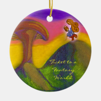 Ticket to a Fantasy World Ornaments