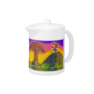 Ticket to a Fantasy World Teapot