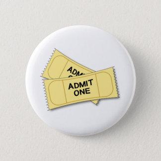 Tickets Pinback Button
