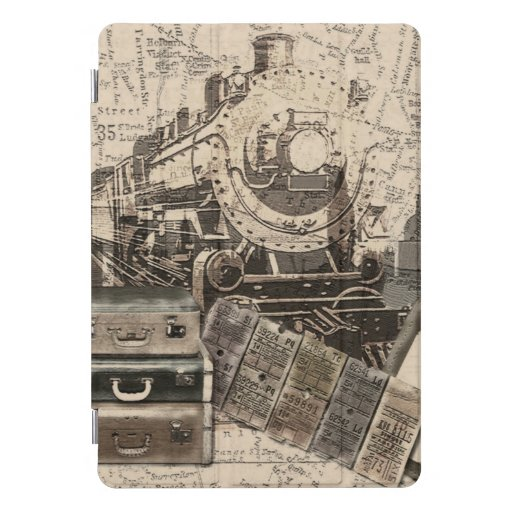 Tickets To Travel iPad Pro Cover