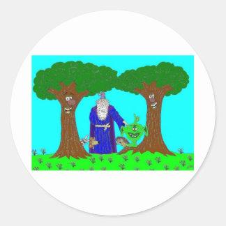 Tickety's Magic Wood Stickers