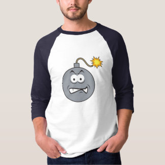 Ticking Bomb Smiley Face T-Shirt