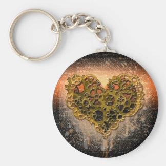 Ticking Heart Keychain