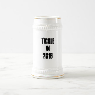 Tickle for president 2016 beer stein
