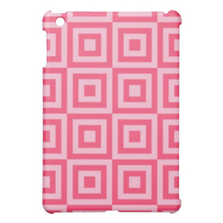 Tickle Me Pink Tiles Case For The iPad Mini