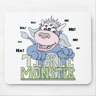tickle monster mouse pad