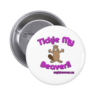 Tickle My Beaver Button