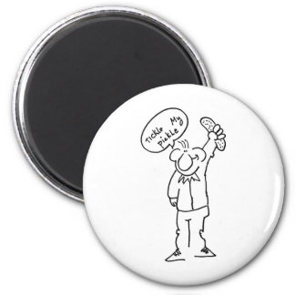 Tickle My Pickle 2 Inch Round Magnet