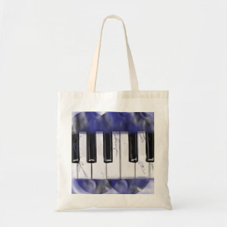 Tickle The Ivory Piano Budget Tote Bag