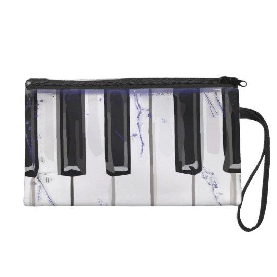 Tickle The Ivory Piano Wristlet Purse