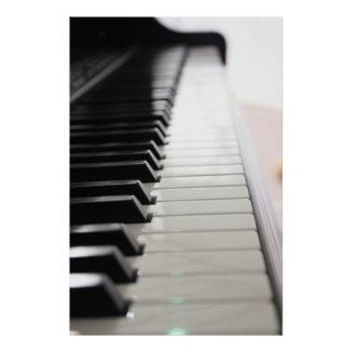 Tickle those Ivories Poster