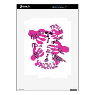 tickle tickle pink. iPad 2 skins