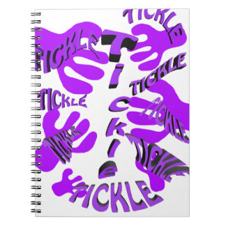 tickle tickle purple. notebook