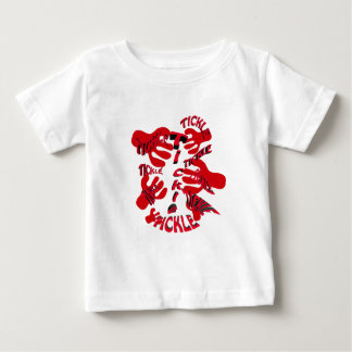 tickle tickle red. baby T-Shirt