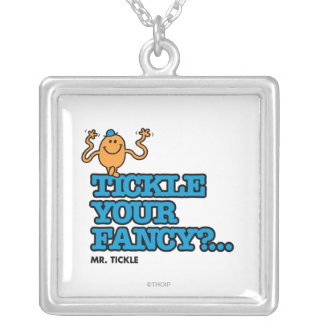 Tickle Your Fancy? Silver Plated Necklace