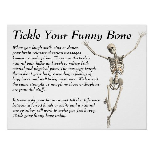 Tickle Your Funny Bone Poster