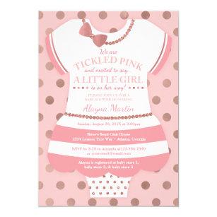 Tickled Pink Invitations Zazzle