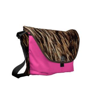 Tickled Pink Courier Bag