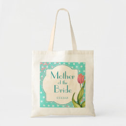 Tickled Pink Tulips - Mother of the Bride Tote Bag