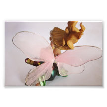 Tickled Pink Winged Fairy Poster Photo