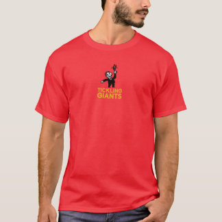 Tickling Giants Red T-shirt