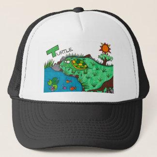 Ticklish Turtle Trucker Hat