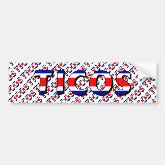 Ticos Bumper Sticker