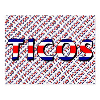 Ticos Postcard