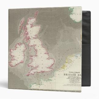 Tidal chart British Seas Binder