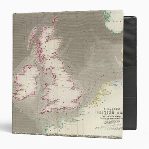 Tidal chart British Seas Binders