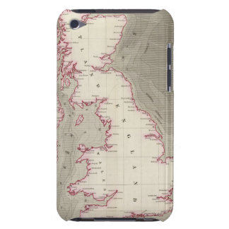 Tidal chart British Seas iPod Touch Covers
