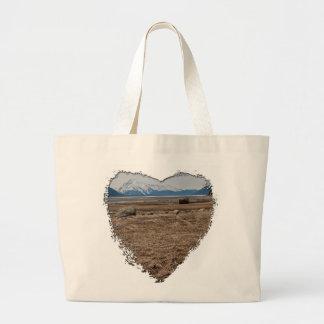Tidal Flats Large Tote Bag