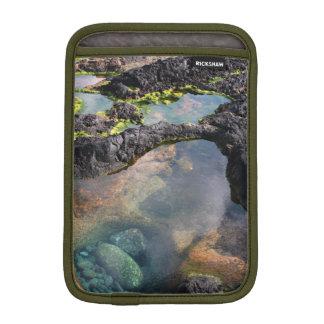 Tidal pools iPad mini sleeve