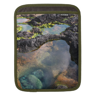 Tidal pools iPad sleeve