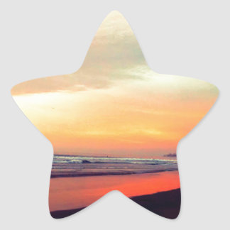 Tidal Relections Star Sticker